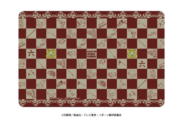 キャラケース「家庭教師ヒットマン REBORN!」01/モチーフデザイン ブラウン(グラフアート)の商品画像