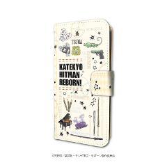 手帳型スマホケース(iPhone6/6s/7/8兼用)「家庭教師ヒットマン REBORN!」04/モチーフデザイン(グラフアート)の商品サムネイル