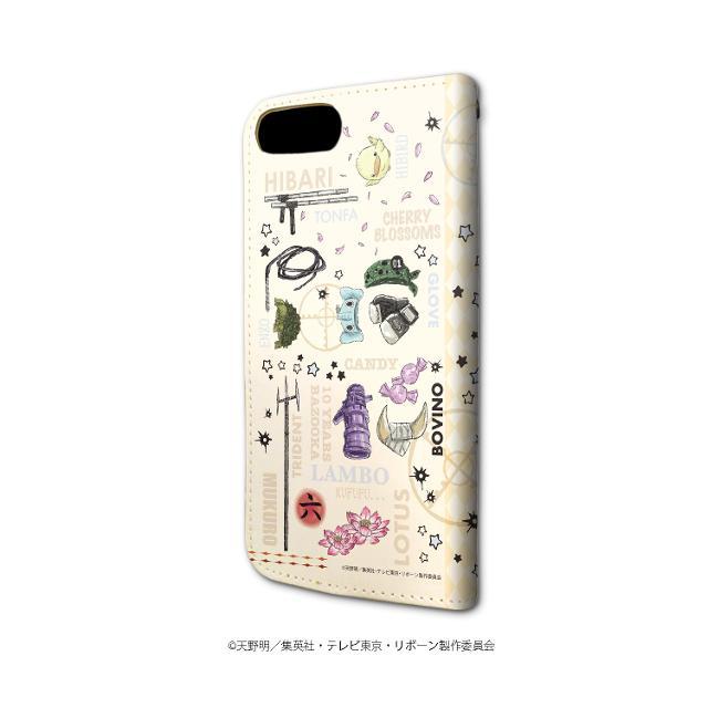 手帳型スマホケース(iPhone6/6s/7/8兼用)「家庭教師ヒットマン REBORN!」04/モチーフデザイン(グラフアート)の商品画像