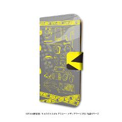 手帳型スマホケース(iPhone6/6s/7/8兼用)「デュラララ!!×2」08/黄色モチーフデザイン(グラフアートデコル)の商品サムネイル