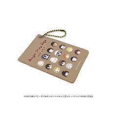 キャラパス「文豪ストレイドッグス DEAD APPLE」09/整列デザイン(KAOKAO)
