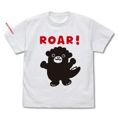 ちびゴジラ Tシャツ/WHITE-Sの商品サムネイル