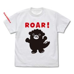 ちびゴジラ キッズTシャツ/WHITE-130cmの商品サムネイル