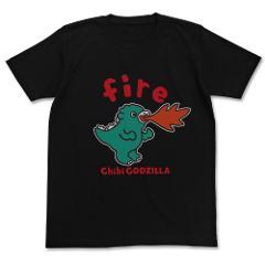 ちびゴジラ ちびゴジラfire キッズTシャツ/BLACK-130cmの商品サムネイル