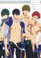 Free!ーDive to the Futureー クリアファイル/B