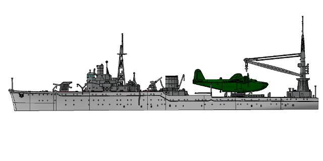 1/700 艦隊これくしょん -艦これ- プラモデル No.33 艦娘 水上機母艦 秋津洲の商品画像