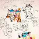 ミッキー コンタクト ケース その他 アニメのフリマ オタマート